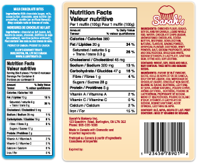 Food Labels Nutritional